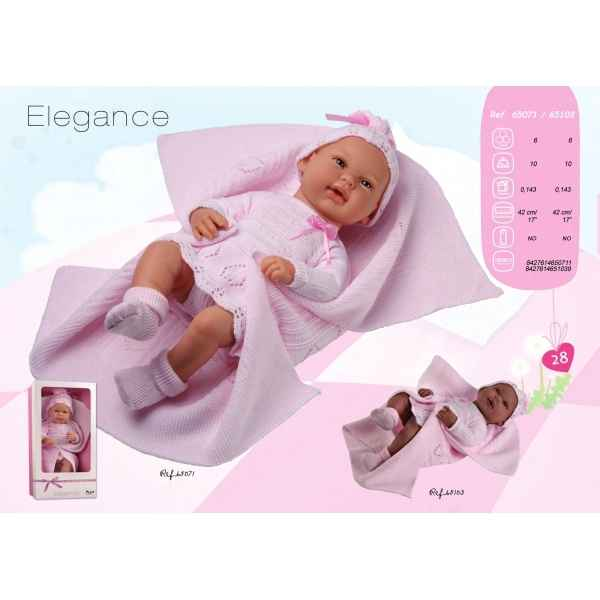 Bebe elegance rose couverture Arias -65071