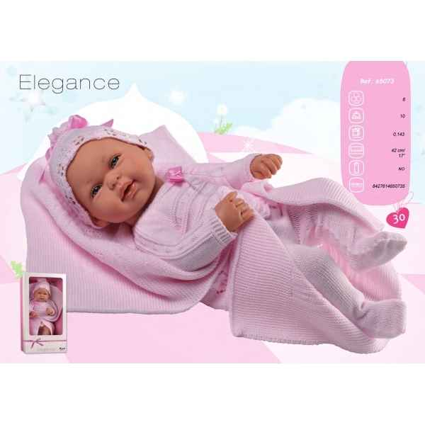 Bebe elegance rose couverture Arias -65073