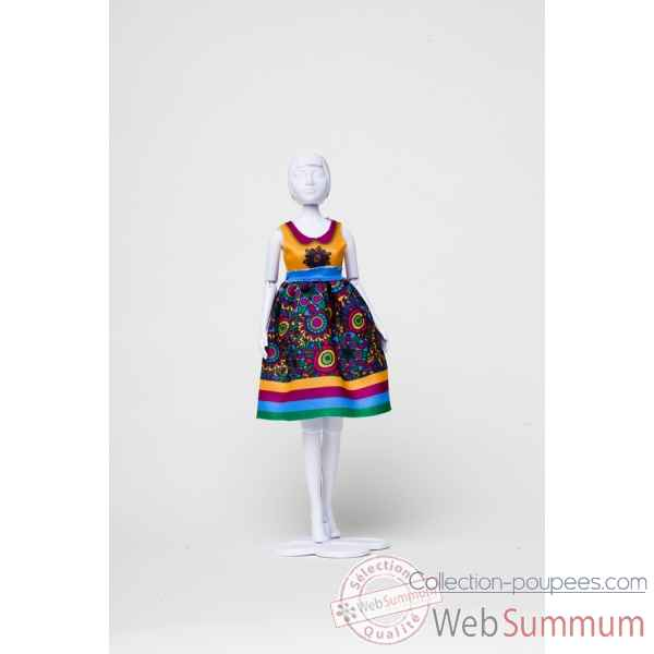 Audrey flower power Dress Your Doll -S412-0302