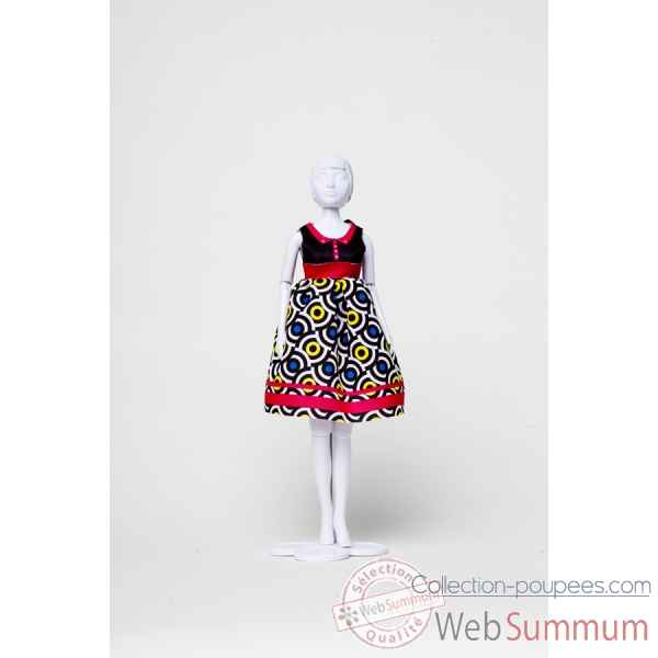 Audrey graphic Dress Your Doll -S412-0304