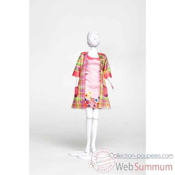 Betty madras Dress Your Doll -S213-1003