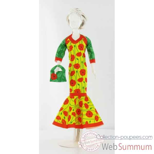 Billy poppy Dress Your Doll -S210-0206
