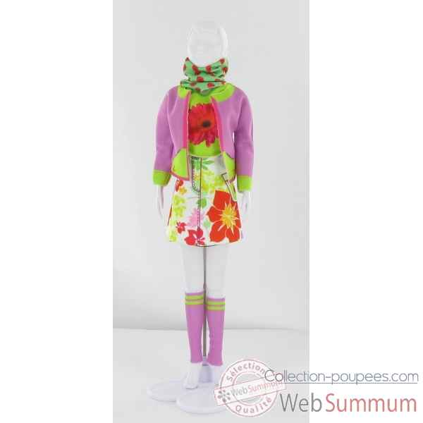 Candy flower Dress Your Doll -S211-0704