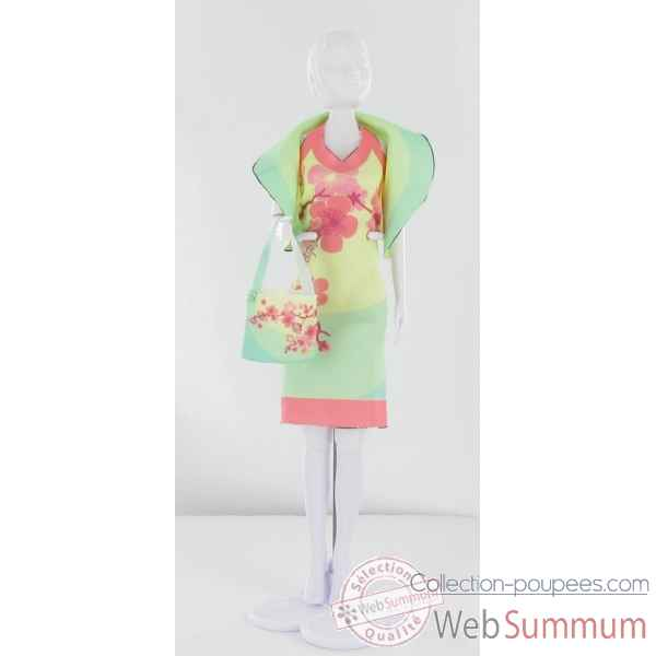 Dolly blossom Dress Your Doll -S111-0307