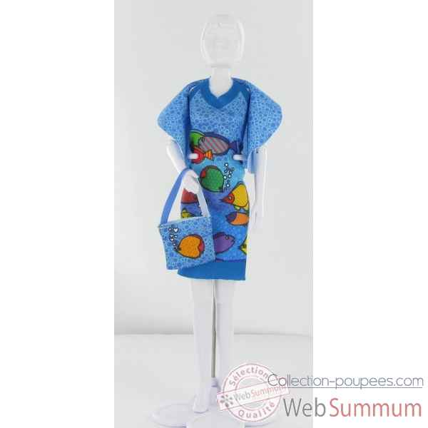Dolly fish Dress Your Doll -S111-0308