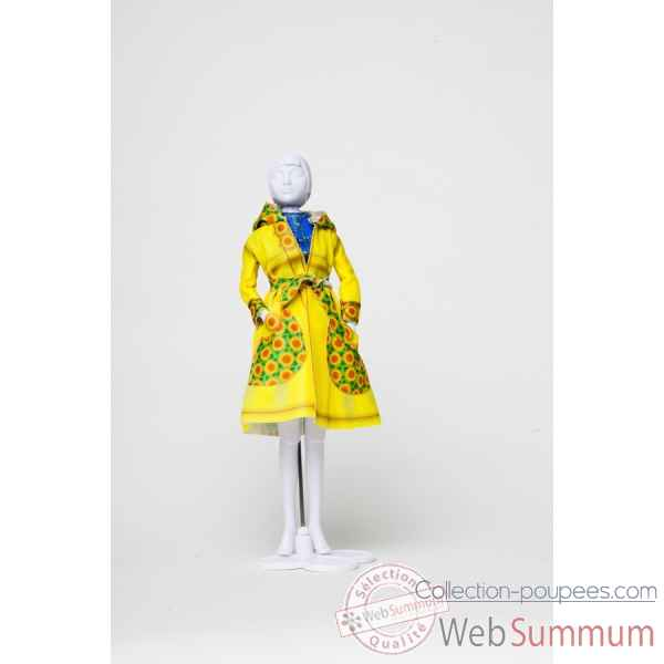 Fanny sun flowers Dress Your Doll -S412-0402