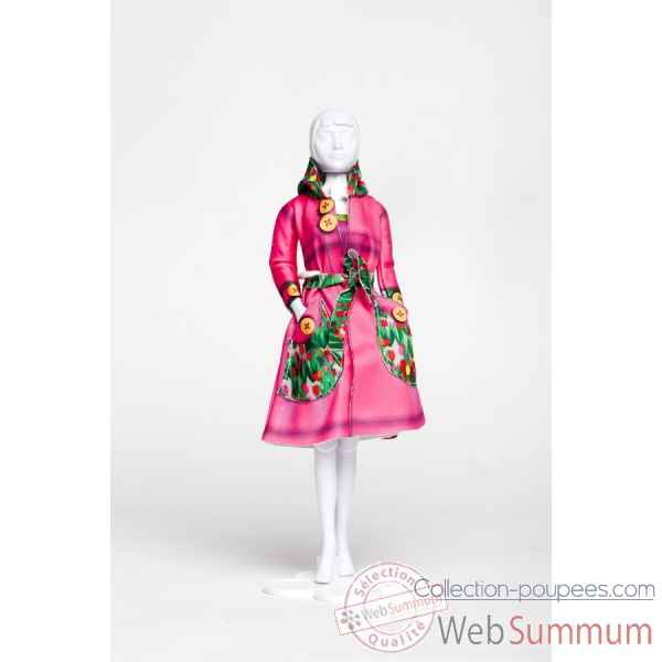 Fanny tulips Dress Your Doll -S413-0405