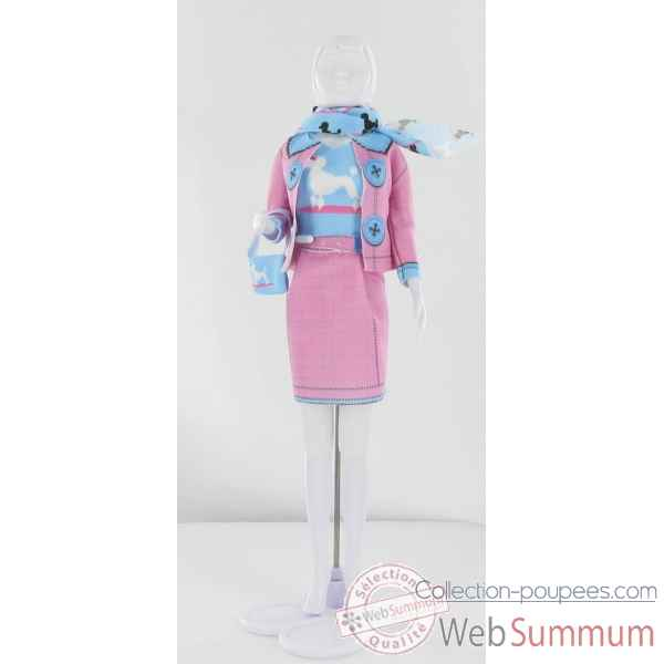 Jacky poodle Dress Your Doll -S311-0106