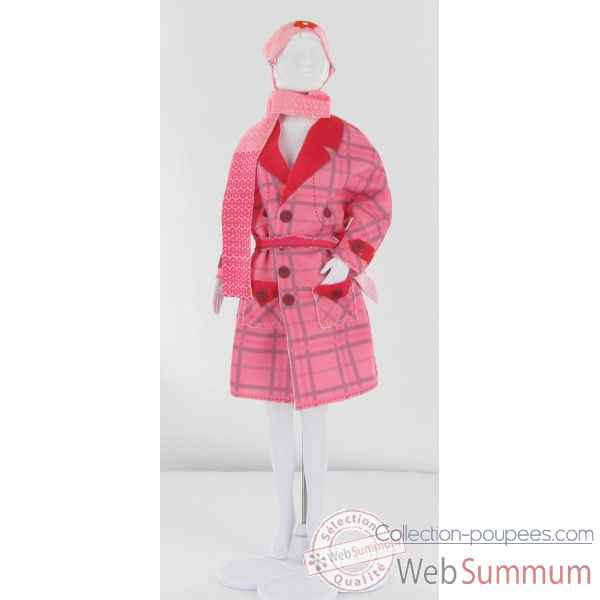 Judy pink Dress Your Doll -S210-0605