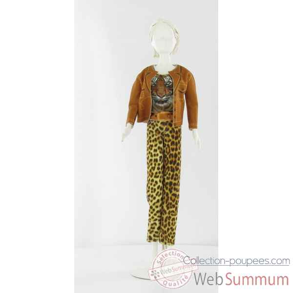 Kitty tiger Dress Your Doll -S310-0201