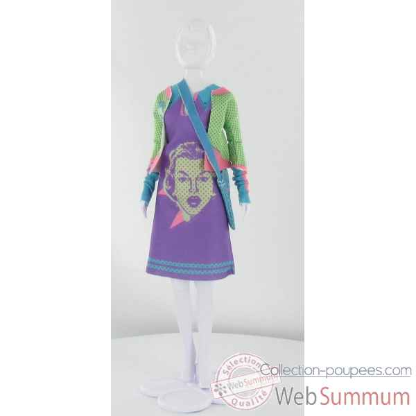 Lizzy girl Dress Your Doll -S211-0902