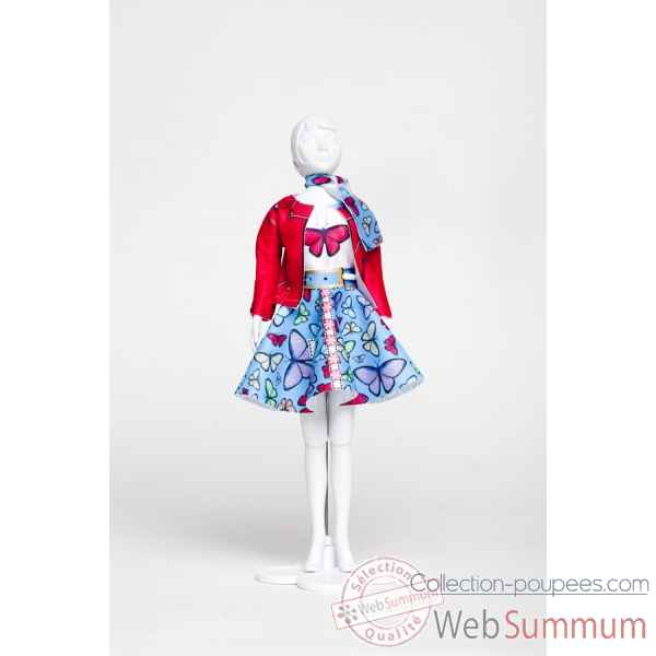 Lucy butterfly Dress Your Doll -S313-0701