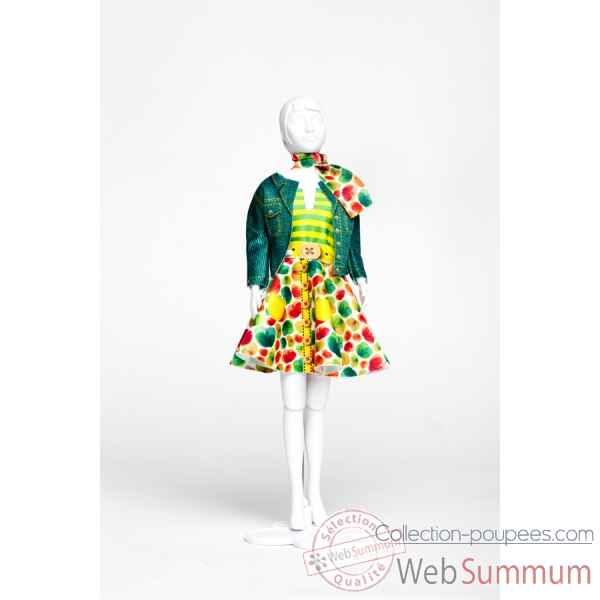 Lucy green Dress Your Doll -S313-0704