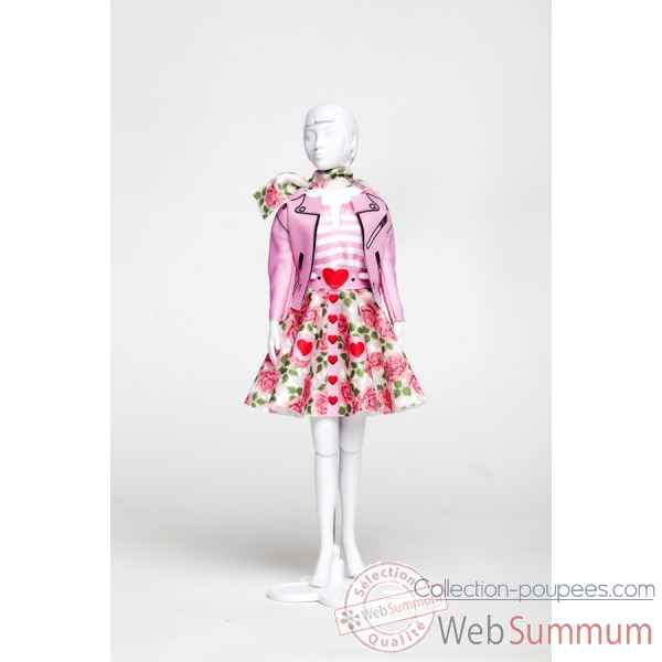 Lucy roses Dress Your Doll -S313-0705