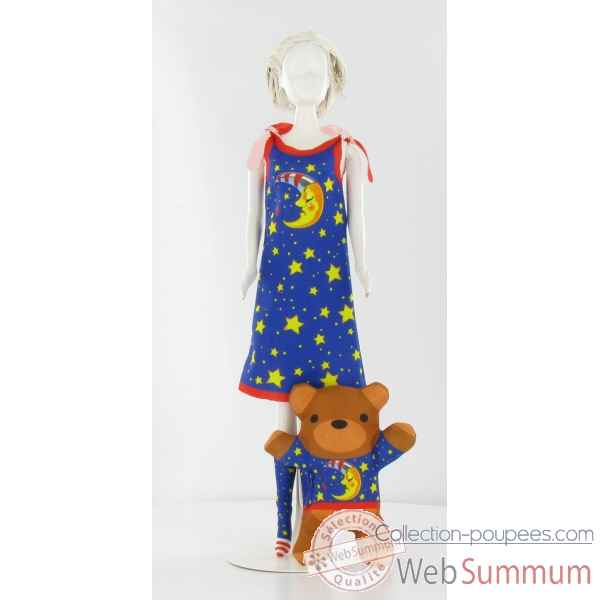 Sleepy moon Dress Your Doll -S210-0402