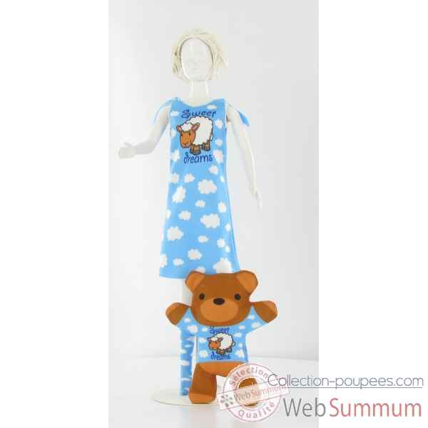 Sleepy sweet dreams Dress Your Doll -S210-0404