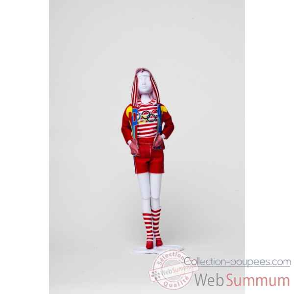 Sporty olympic Dress Your Doll -S412-0201