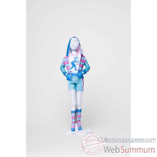 Sporty pastel Dress Your Doll -S412-0203