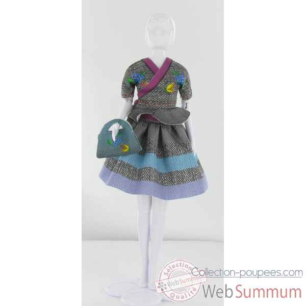 Steffi tweed Dress Your Doll -S411-0101