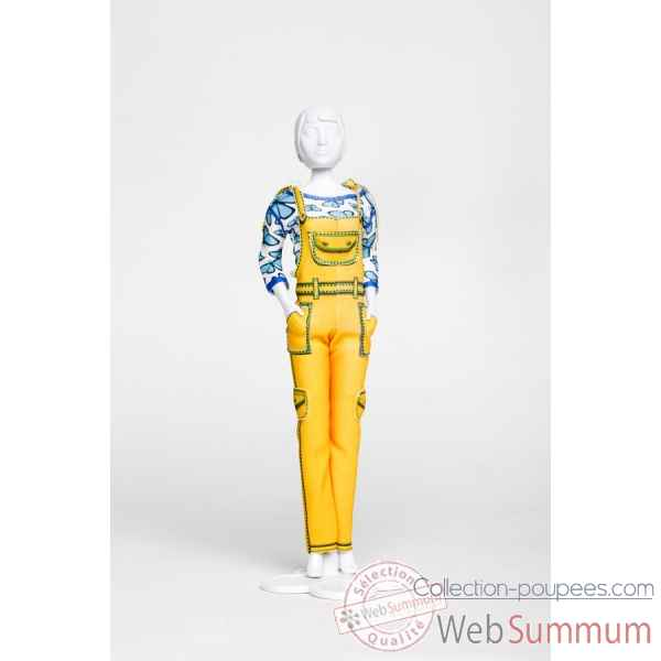Tilly yellow Dress Your Doll -S413-0503