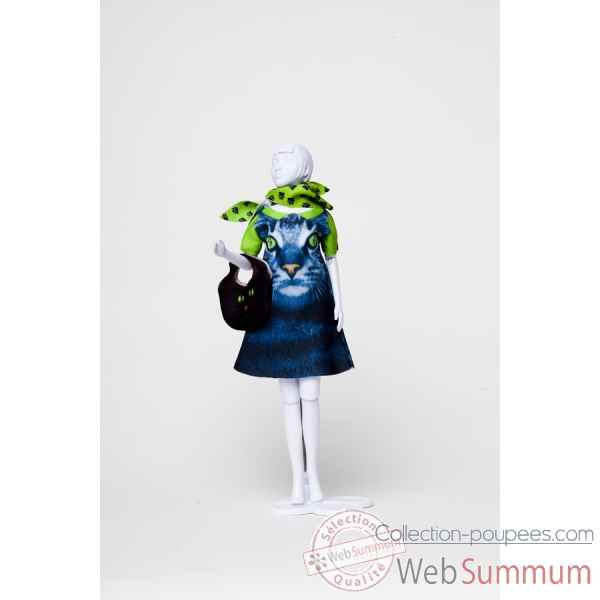 Twiggy cat Dress Your Doll -S212-0308