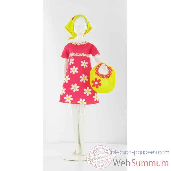Twiggy daisy Dress Your Doll -S210-0302