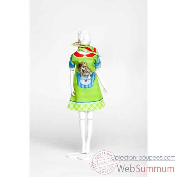 Twiggy kitten Dress Your Doll -S213-0310
