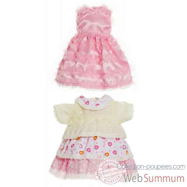 Tenue poupee 21 cm set 3 Kidz n Cats -Y10027