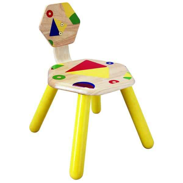 Video Chaise de Jeu en Bois PlanToys -3417