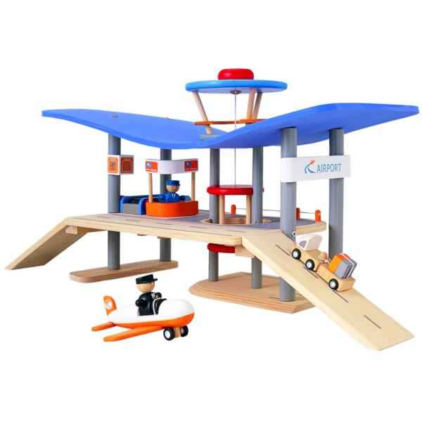 Aeroport en bois PlanToys -6088