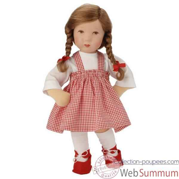 Poupee collection Kathe Kruse®  - Modele Daumlinchen Kathl  brune - 25705