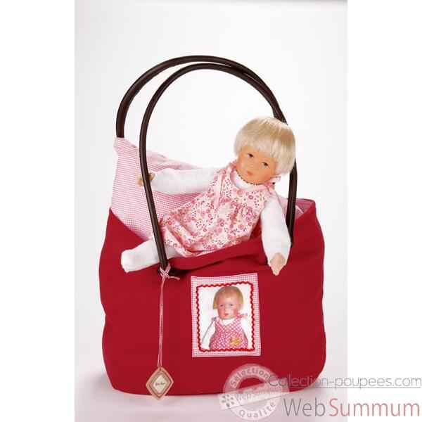 Poupee collection Kathe Kruse®  - Bath Baby, Baby Rumpumpel mit Tasche- 32851