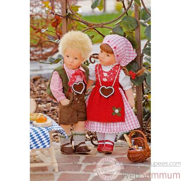 Poupee collection Kathe Kruse®  - Doll IX, Little Rascal- 35803