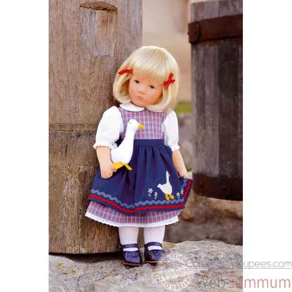 Poupee collection Kathe Kruse®  - Doll IX, Ganseliesl- 35805