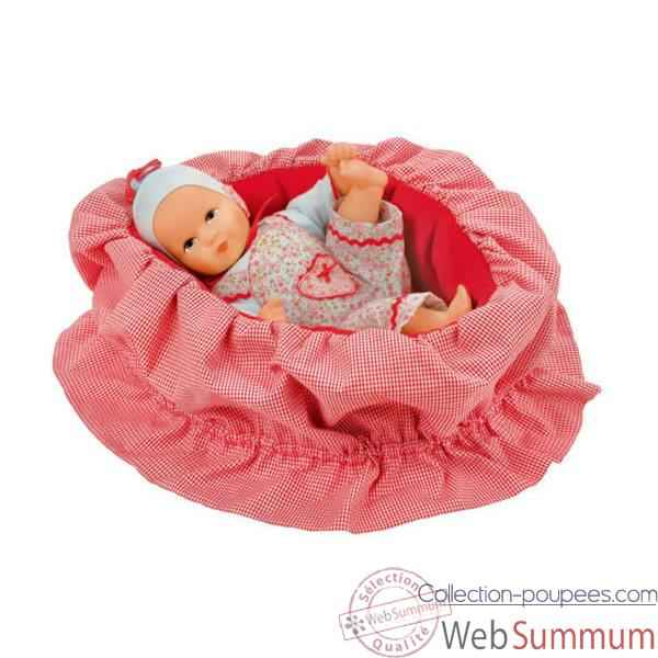 Kathe Kruse®  - Poupee de collection mini bambina Tinka, edition limitee - 36759